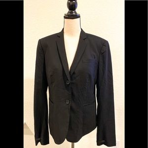 Helmut Lang 100% Wool Blazer in Black Size Large